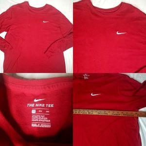 Men's 3XL 3X XXXL Nike Embroidered Longsleeve Tee